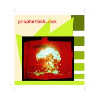 Nostradamus Nuclear War- 3 3D painting