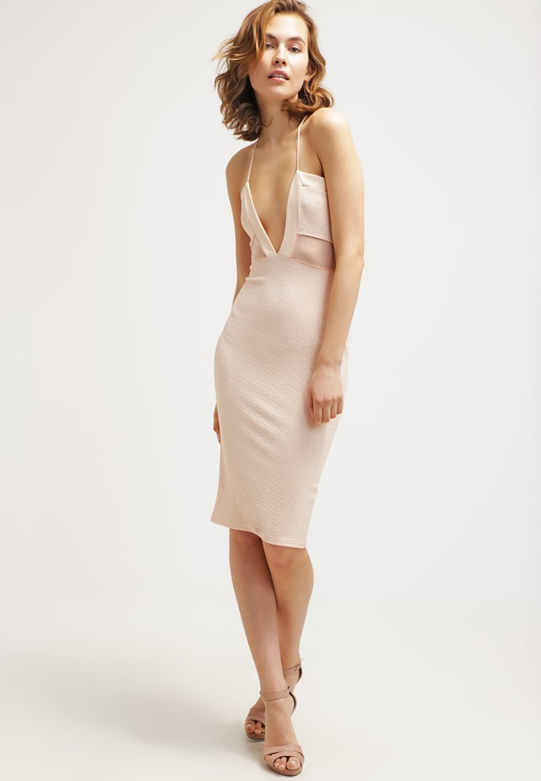 pastelowa sukienka, różowa, sukienka bieliźniana, slip dress