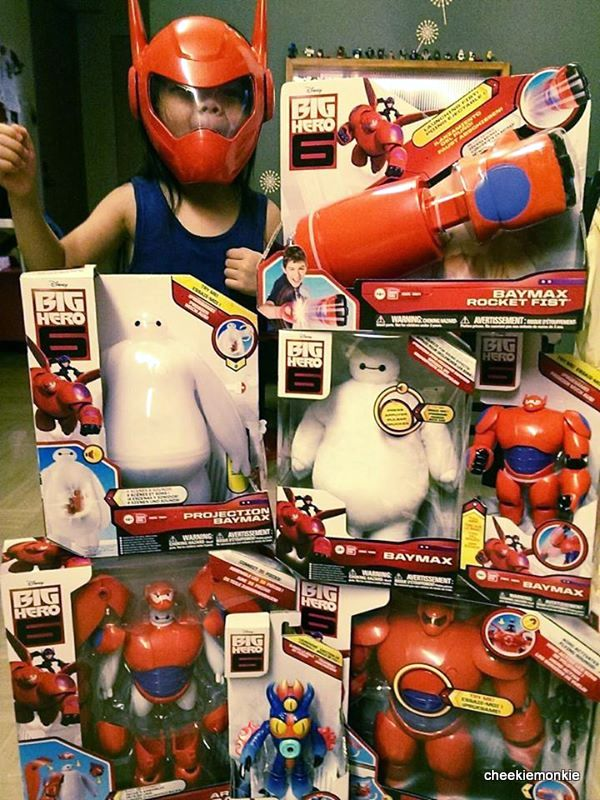 Cheekiemonkies Singapore Parenting Lifestyle Blog Must Have Big Hero 6 Toys Baymax Giveaway Cheekie Monkies