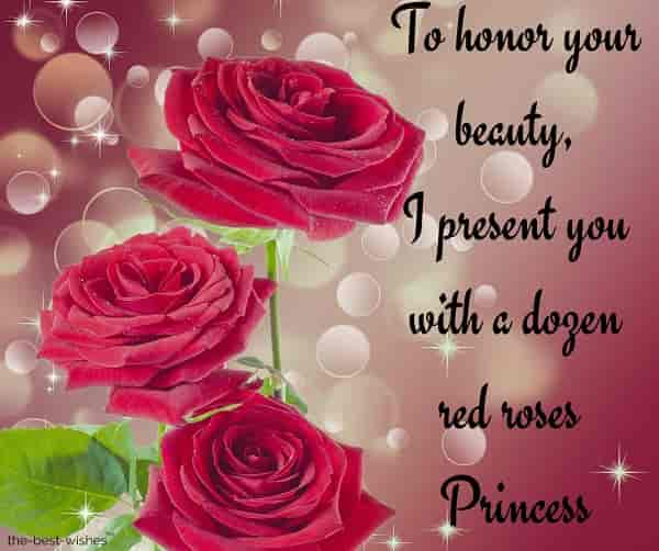 good morning princess greetings