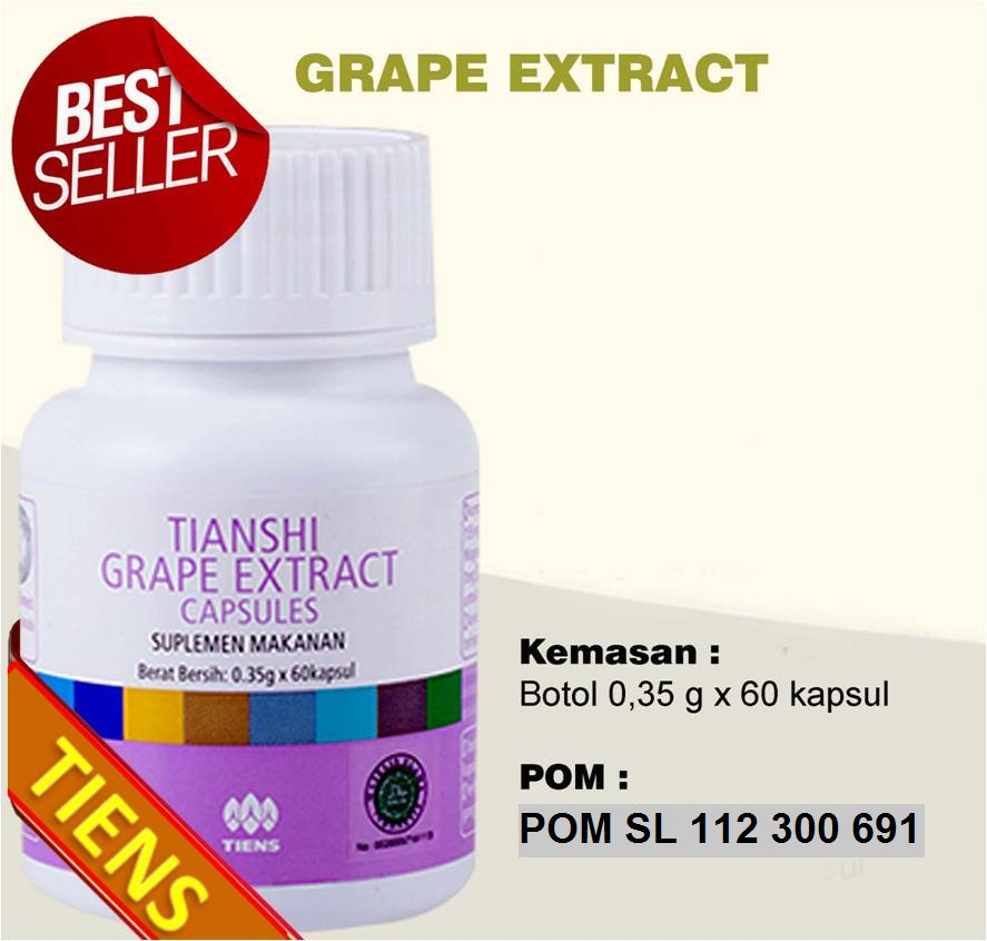 Grape Extract Capsules Tiens