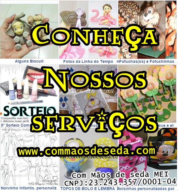 Conheça nossos serviços ((www.commaosdeseda.com))