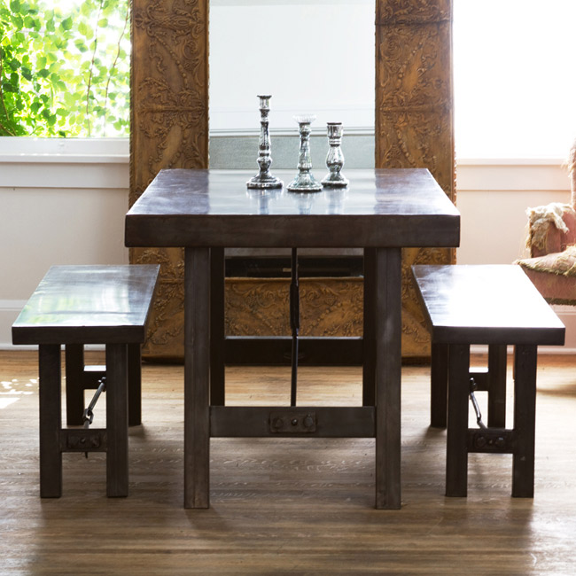 Copy Cat Chic: Pottery Barn Benchwright Fixed Dining Room