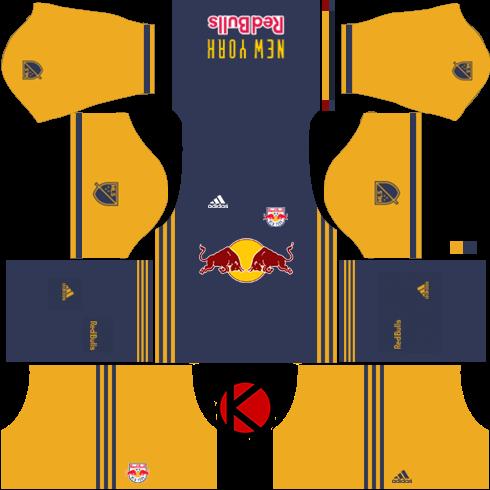the best attitude c327b b44e0 New York Red Bulls kits 2017 - Dream League Soccer - Kuchalana