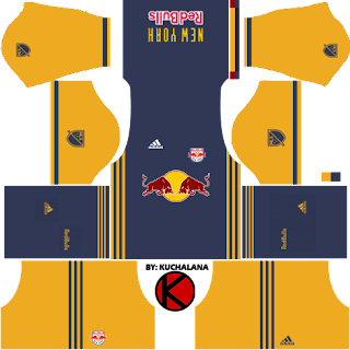 New York Red Bulls kits 2017 - Dream League Soccer