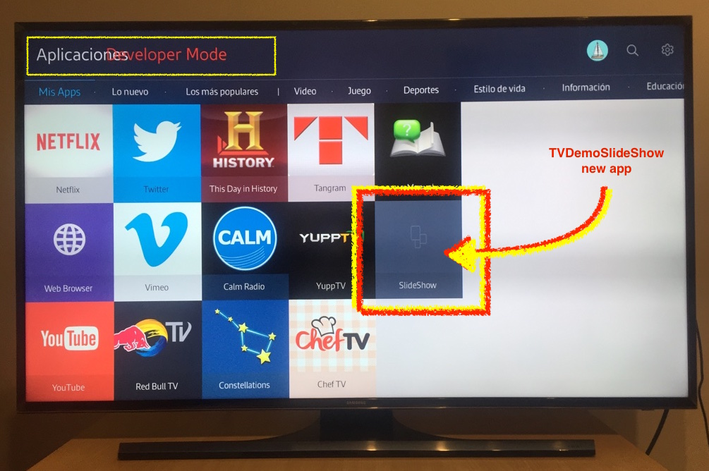 How to Develop on Samsung Smart TV with Tizen (Part III