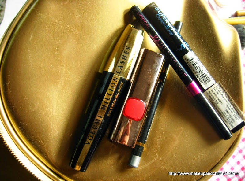 L'Oreal products to create a glamorous look