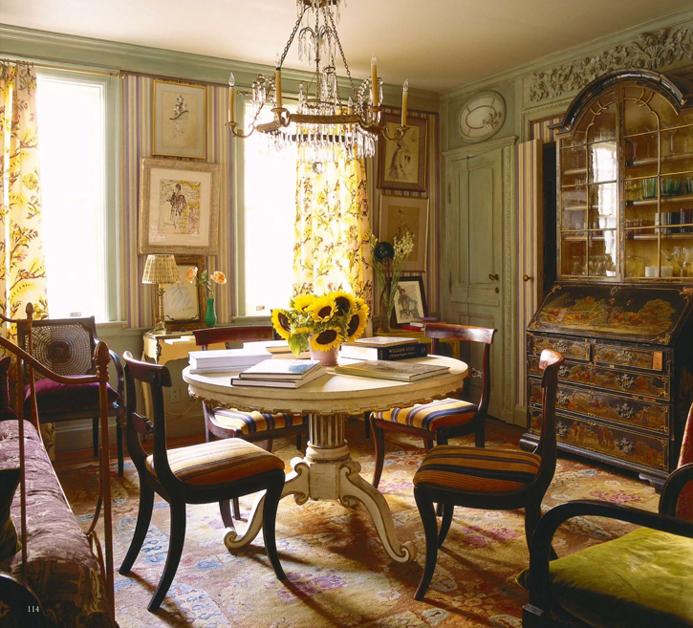 interiors hamish bowles manhattan apartment cool chic style fashion. Black Bedroom Furniture Sets. Home Design Ideas