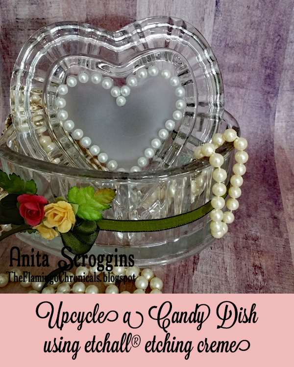 Upcycle candy dish