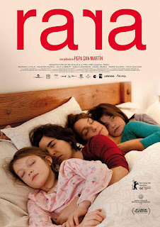 Cartel oficial español: Rara (2015)