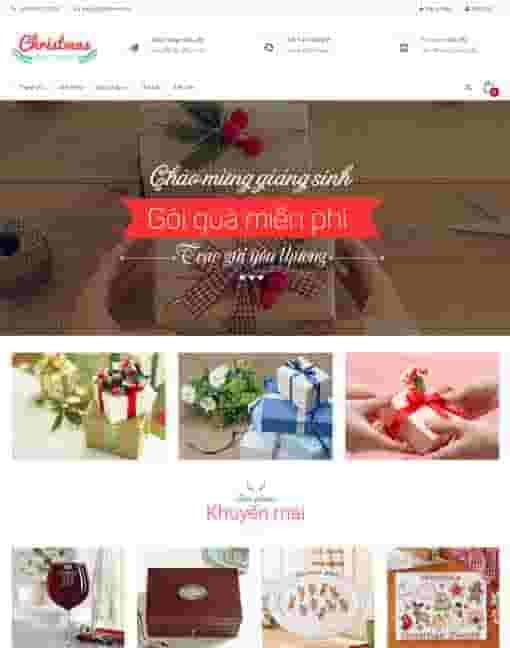 Giao diện blogspot bán hàng