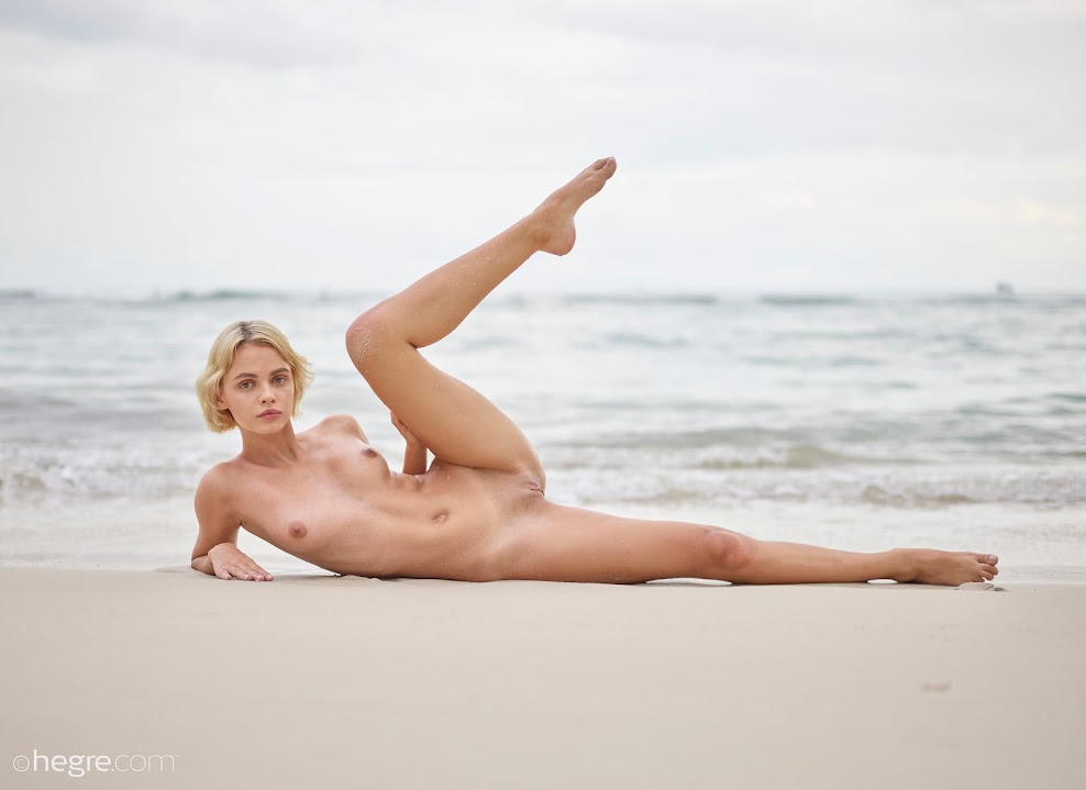 title2:Hegre Ariel Twilight Beach Nudes