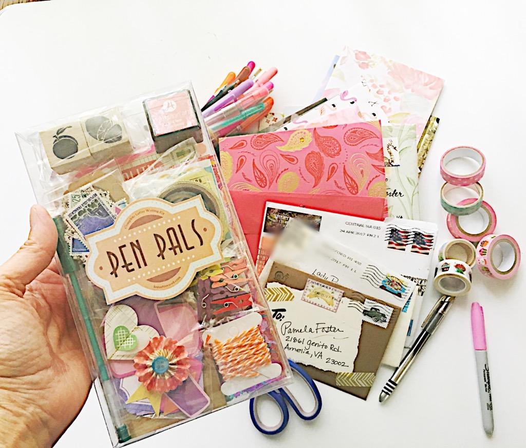 letter writing kit