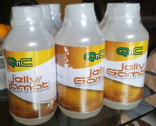 Grosir Jelly Gamat QnC