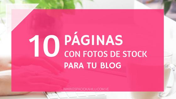 fotos gratis para tu blog