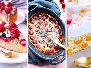12 desserts pour la fête des Mères