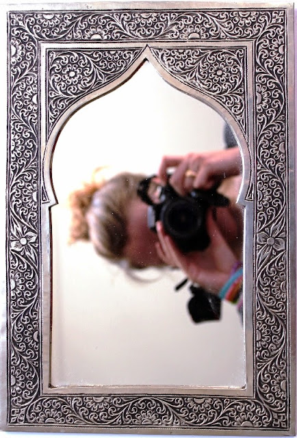 Mirror a souvenir from Marrakech trip
