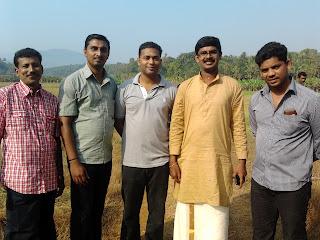 Kuryan, Madhu Pillai, Siju George, Jinessh, Renjan