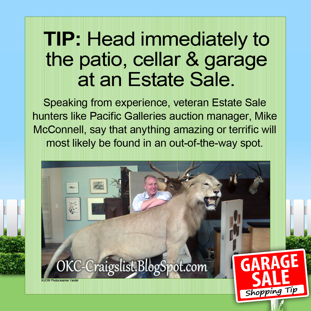 Estate Sale Tips Search These Three Rooms First Craigslist Garage