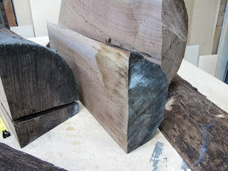 Recycled Walnut Wood for Handmade Ring Boxes