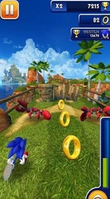 Download Sonic Dash v3.7.6.Go + Mod