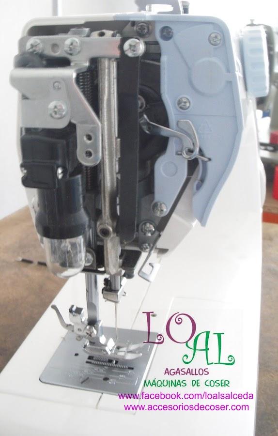prensatelas luz maquina de coser alfa1203