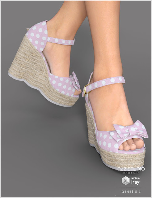 Teen Girl Heels for Genesis 3 Female