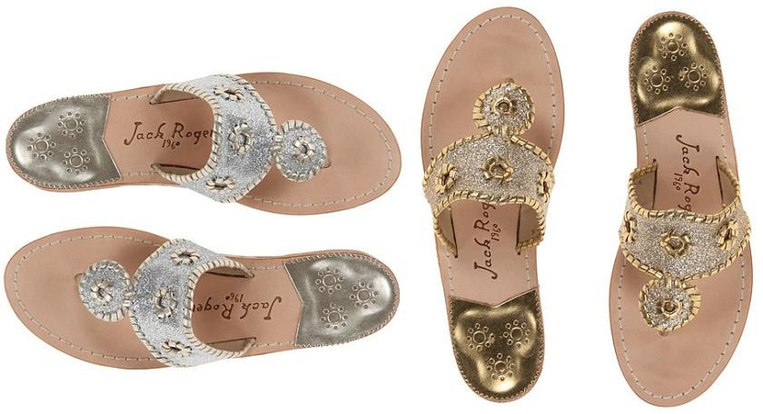 Jack Rogers Sparkle Sandals for only $70 (reg $138)