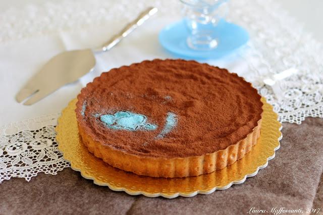 tart au chocolat ricetta passo passo