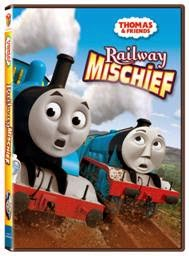 Enter to #win the Thomas & Friends: Railway Mischief DVD. #Giveaway ends 4/15.