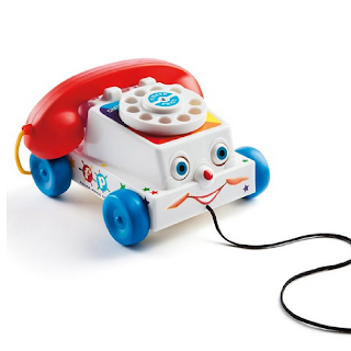 Une réédition du téléphone vintage de Fisher Price