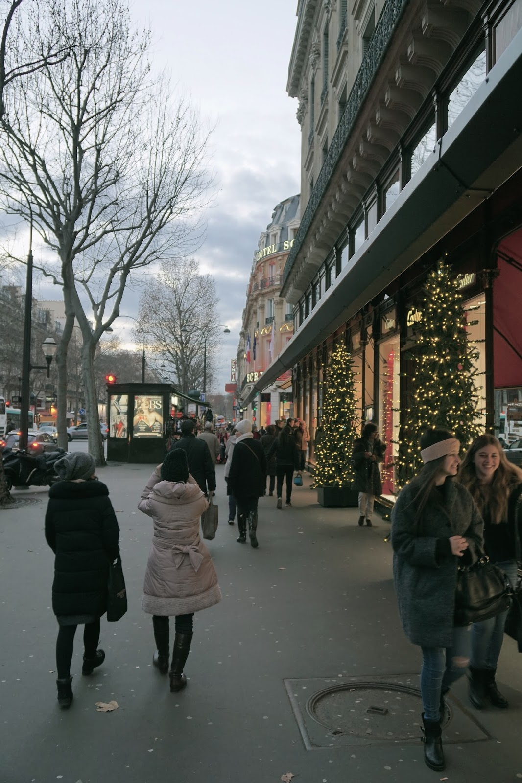 マドレーヌ通り(Boulebvard de la Madeleine)