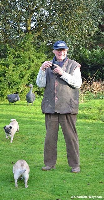 The galloping gardener a winter walk with john brookes at denmans and his thoughts on garden design - Garden design john brookes ...