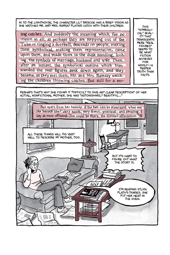Page 29, Chapter 1: Ordinary Devoted Mother from Alison Bechdel's graphic novel Are You My Mother