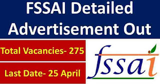 FSSAI Recruitment Notification 2019