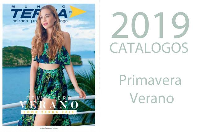 Catalogos Mundo Terra 2019 Primavera Verano  (completos )