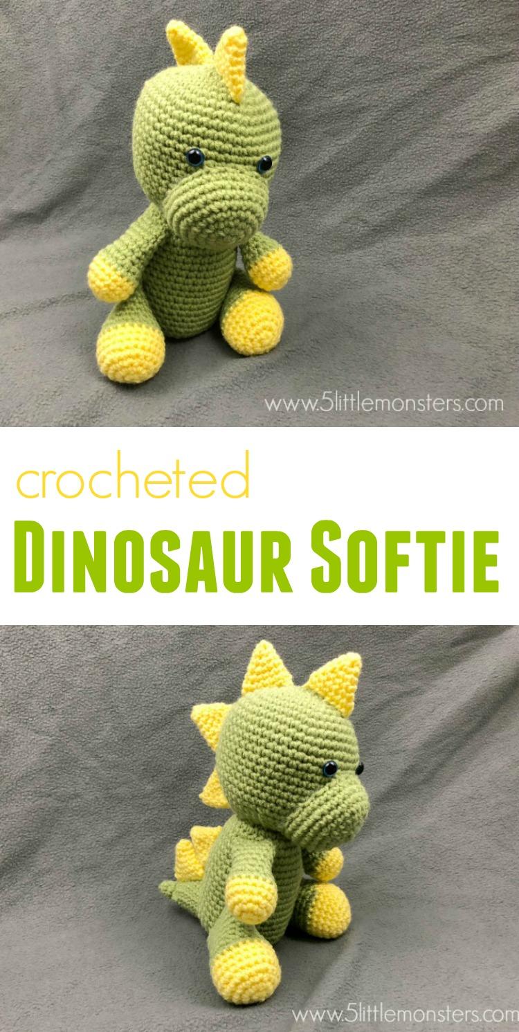 5 Little Monsters Dinosaur Softie
