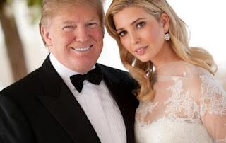 El presidente Donald Trump y su hija Ivanka