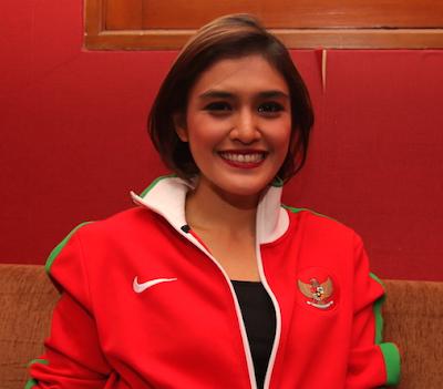 Ratu Anandita Presenter Olahraga Tercantik
