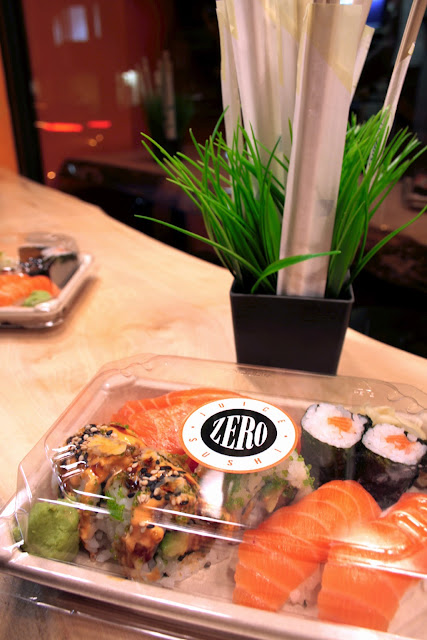 Zero sushi in Berkhamsted - high quality and fresh sushi made from scratch.