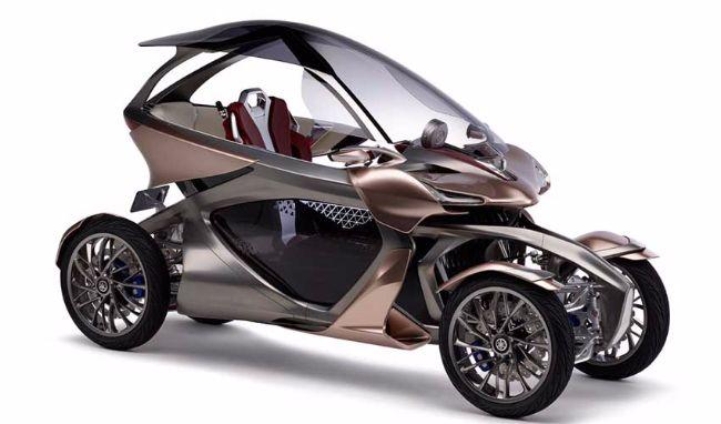Mengenal Yamaha Motoroid, Konsep Motor yang Futuristik