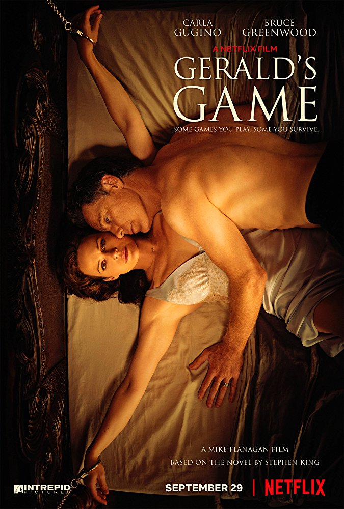 Gerald's Game: My take on the Movie Based on Stephen King's Book