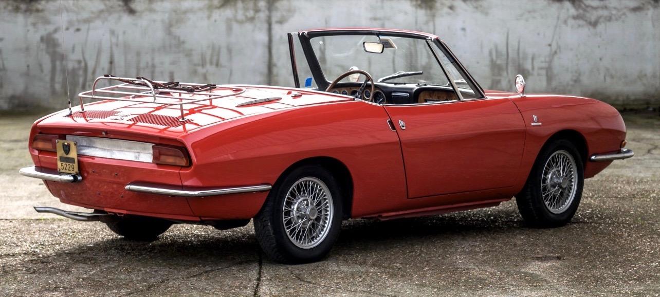 Car Style Critic: Cute: Giugiaro's Fiat 850 Spider