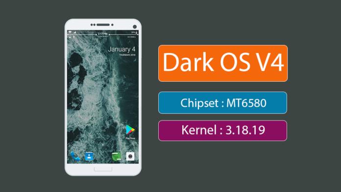 MTK-65XX Custom Rom: DARK OS custom rom for Mediatek MT6580