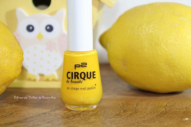"""P2 """"Cirque de beauté"""" LE 010 Stunning Yellow"""