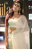Prajna Actress in backless Cream Choli and transparent saree at IIFA Utsavam Awards 2017 0115.JPG