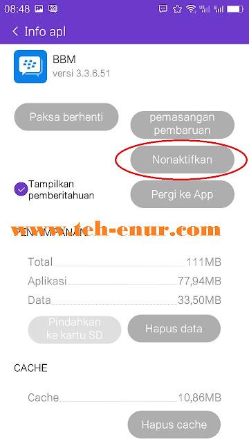 Info aplikasi BBM