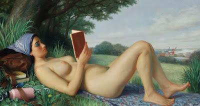 desnudo mujer pintura artistica