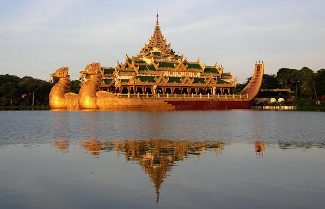 Hồ Kandawgyi - Vẻ Đẹp Nhân Tạo