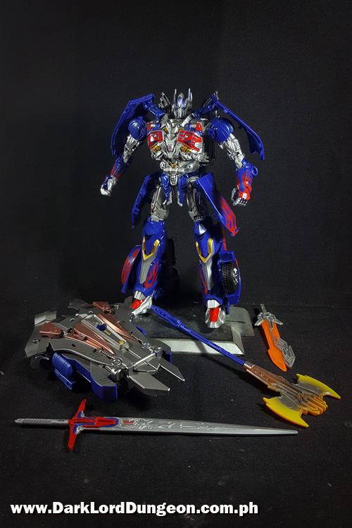 Takara TLK-15 Calibur Optimus Prime gear